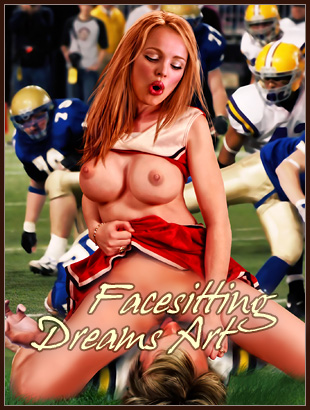 Hot Facesitting Dreams art
