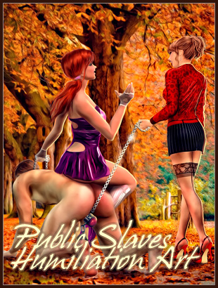 Public Sissy Male Slaves Humiliuation femdom fantasy art