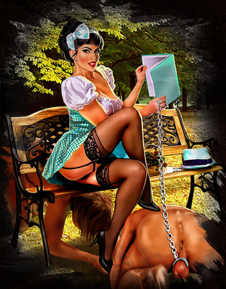 Domination female feminization forced